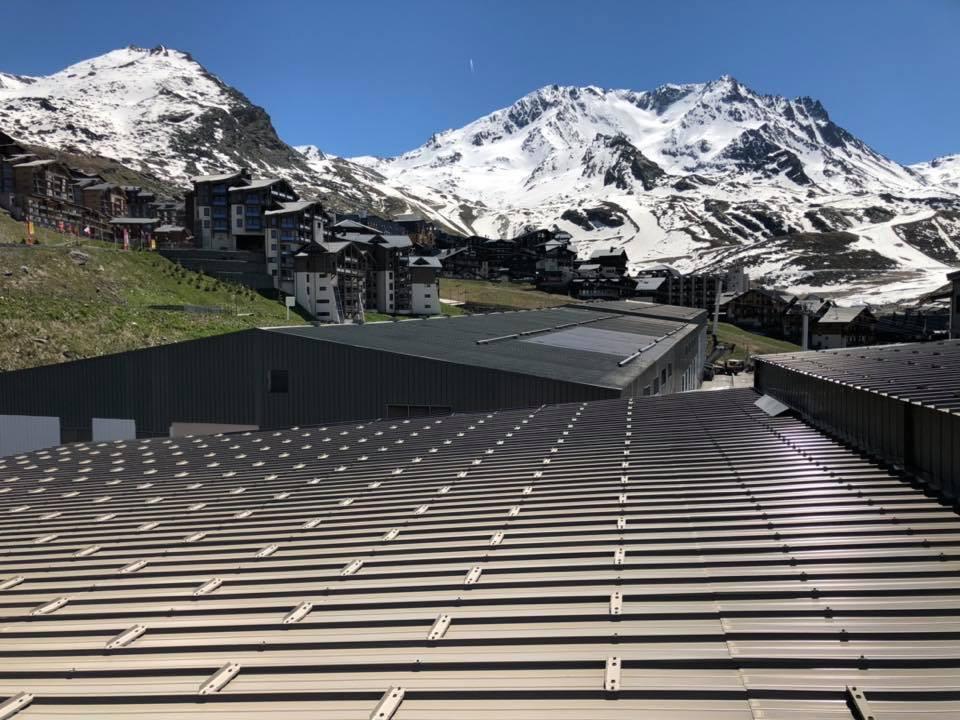 Sécurisation de toiture- Val Thorens